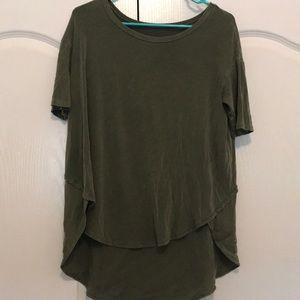 American Eagle Green Blouse